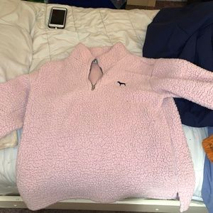 A PINK brand pullover